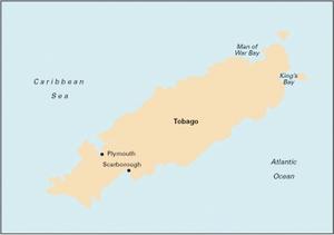 Imray B4 - Tobago - 1:65,000 WGS 84