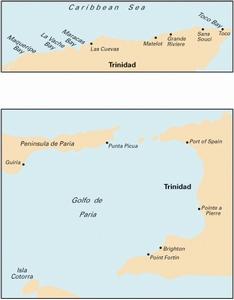 Imray D10 - North Coast of Trinidad and Golfo de Paria