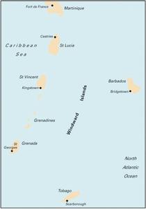 Imray B5 - Martinique to Grenada, Tobago and Barbados