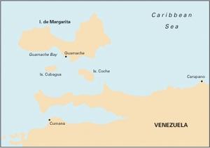 Imray D12 - Carupano to Cumana and Isla de Margarita