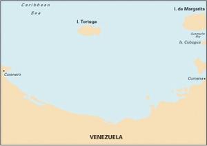 Imray D13 - Isla de Margarita to Carenero - 1:255,000