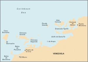 Imray D131 - Puerto Mochima to Bahia de Barcelona
