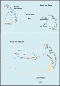 Imray D22 - Isla los Roques and Isla de Aves