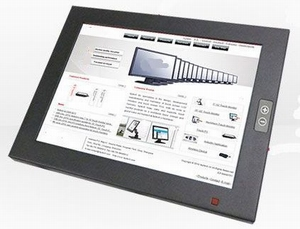 IP65 Touchscreen 10 inch 350+ nits - 8-36 Volt
