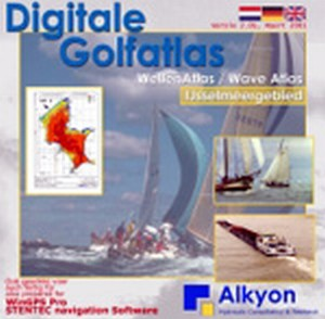 Digitale Golfatlas IJsselmeer CD