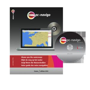 PC-Navigo Frankrijk op DVD versie 2019 geheel bijgewerkt