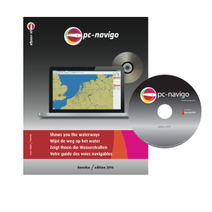 PC-Navigo Benelux op DVD versie 2021 geheel bijgewerkt
