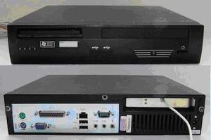 Fanless 12 Volt PC + CD-speler - Voor continu gebruik