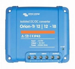DC/DC Omvormer Orion 12/12-18A - 220Watt
