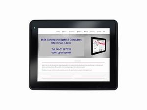 IP65 waterproof 12 & 24 Volt krasvast 10 inch touchscreen