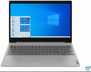LENOVO IdeaPad 3 - Intel processor i3-1005G1 - 15,6
