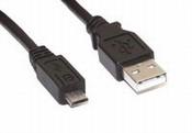 KABEL VAN USB 2.0 NAAR MICRO-B MALE 1.8M