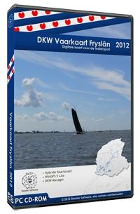 Vaarkaart Fryslân - DKW  -  nieuwste versie