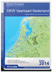 Vaarkaart Nederland- DKW  - download versie 2017/18