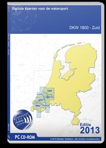 DKW 1800-serie Zuid - downloadversie 2017
