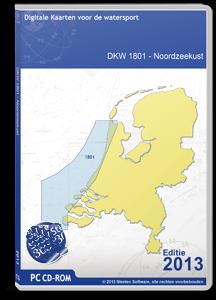 DKW 1801 Noordzeekust (IJmuiden tot De Panne - België)