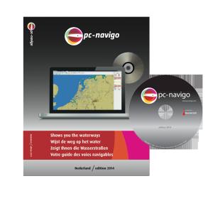 PC-Navigo Nederland op DVD versie 2019 geheel bijgewerkt