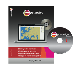 PC-Navigo Europa op DVD versie 2020 geheel bijgewerkt